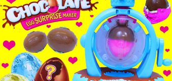 CHOCOLATE EGG SURPRISE MAKER!!! Fun Kids Surprise Egg Maker