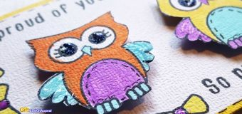 DESIGN TEAM PROJECT | OWL GREETING CARD | MAYMAY MADE IT