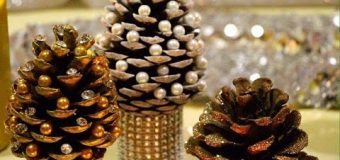 DIY Pine cone Christmas Trees – Miniature Christmas Tree Caft DIY Projects