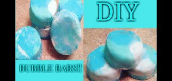 "DIY | Easy Bubble Bars ""LUSH INSPIRED"" (HOW TO MAKE HOMEMADE BUBBLE BARS)"