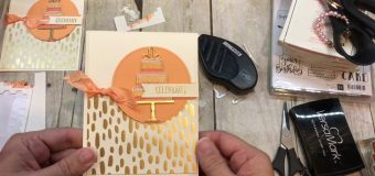 How to make a gorgeous Birthday or Wedding Card using Stampin Up's Celebration Time