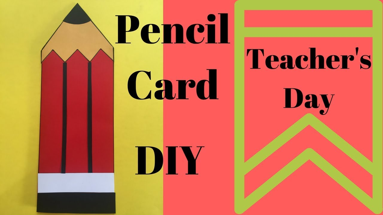 How To Make Best Greeting Card For Teachers Day Handmade Card For