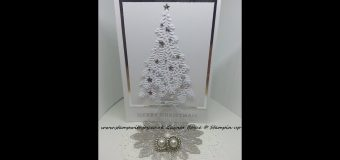 """Ready for Christmas"" tree card stampin up 2017"